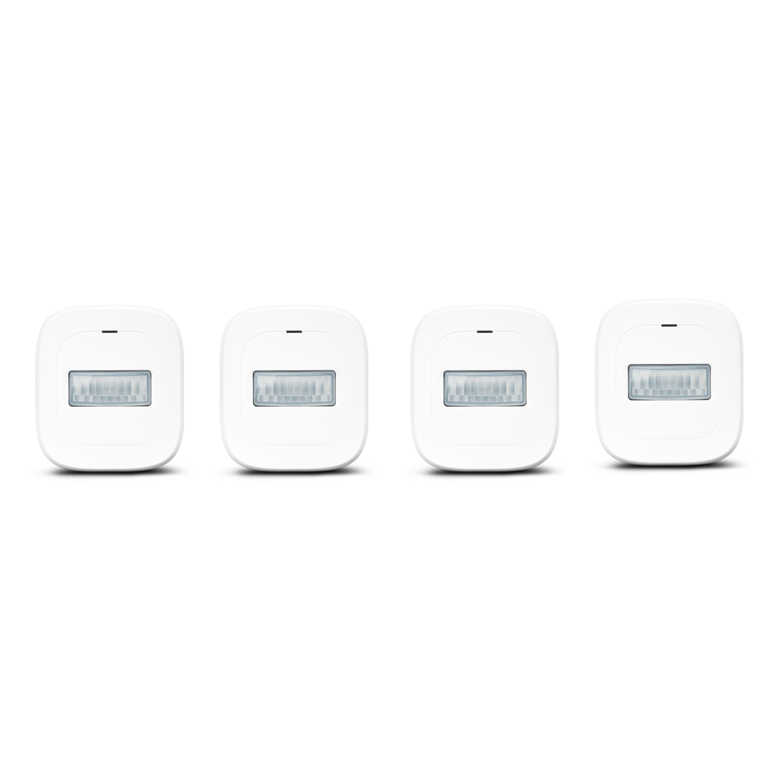 MEDION® Smart Home Sparpaket - 4 x Bewegungsmelder P85707, Smart Home, 120° Weitwinkel, bis zu 8 Meter Reichweite