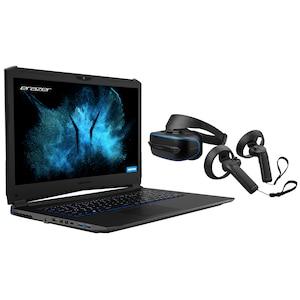 MEDION® Gaming Sparpaket - High End Gaming Notebook MEDION® ERAZER® X7855 + MEDION® ERAZER® X1000 MR Glasses inkl. 2 Motion Controller