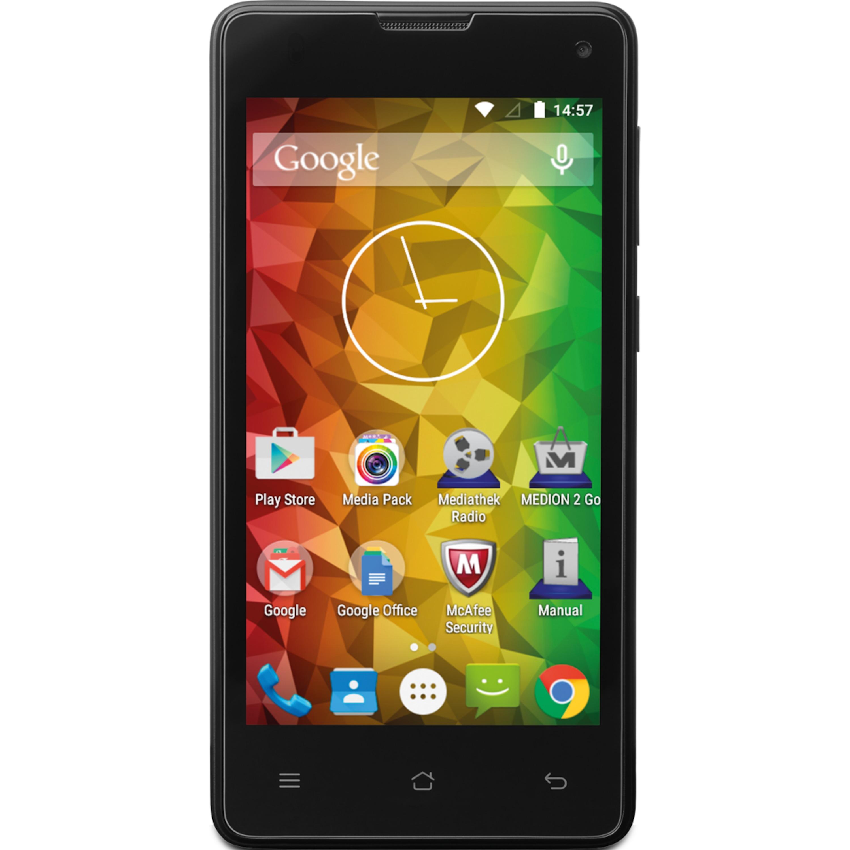 """MEDION® LIFE® E4503 Smartphone, 11,43 cm (4,5"""") Display, Android™ 5.0, 8 GB Speicher, Quad-Core-Prozessor"""
