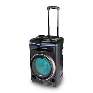MEDION® LIFE® P61200 Partyluidspreker | Bluetooth | Draagbaar | Lichteffecten | Krachtig geluid | Wieltjes |  350 W max. uitgangsvermogen
