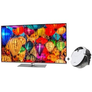 MEDION® Sparpaket LIFE® S16599 163,9 cm (65'') Ultra HD Smart-TV, Bluetooth, Netflix, PVR ready + Wischroboter MD 18379