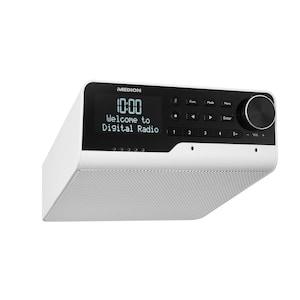 MEDION® LIFE® P66120 WLAN Unterbauradio mit Amazon Alexa, Sprachsteuerung, Bluetooth-Funktion, Party Mode-Funktion, Internetradio, DAB+, DLNA kompatibel