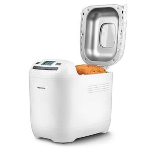 MEDION® Brotbackautomat MD 18636, 12 Backprogramme, 3 wählbare Bräunungsgrade, 650 Watt, 1000g Fassungsvermögen