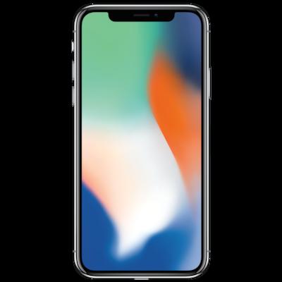 APPLE iPhone X 64 GB, silber (generalüberholt)