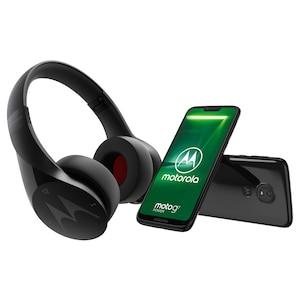 MOTOROLA moto g7 power Smartphone, 15,84 cm (6,2) HD+ Display, Android™ 9.0, 64 GB Speicher, Octa-Core-Prozessor, Dual-SIM, LTE + Gratis Motorola Pulse Escape - Drahtloser Bluetooth-Kopfhörer