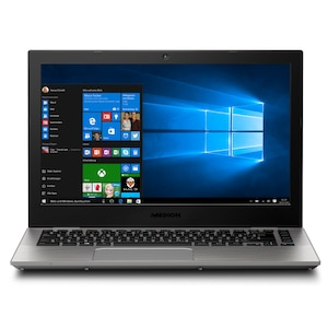 MEDION® AKOYA® S3409, Intel® Core i5-7200U, Windows 10 Home, 33,7 cm (13,3) QHD+ Display, 256 GB SSD, 8 GB RAM, Notebook