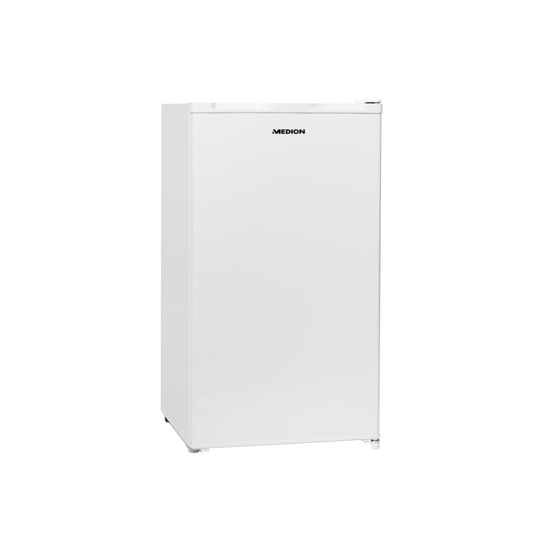 MEDION® Kühlschrank mit Eiswürfelfach MD 37242, Geräuschpegel 41 dB, 93 Liter Fassungsvermögen, platzsparende Größe