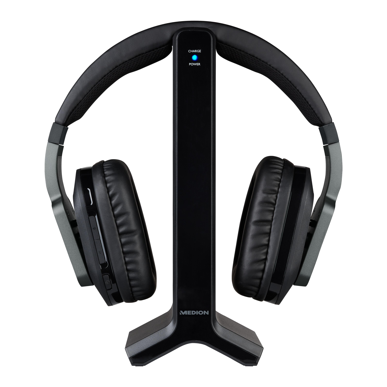 MEDION® LIFE® E69288 Funkkopfhörer, 20 Hz - 20 kHz, Reichweite 20 m, digitaler Sound