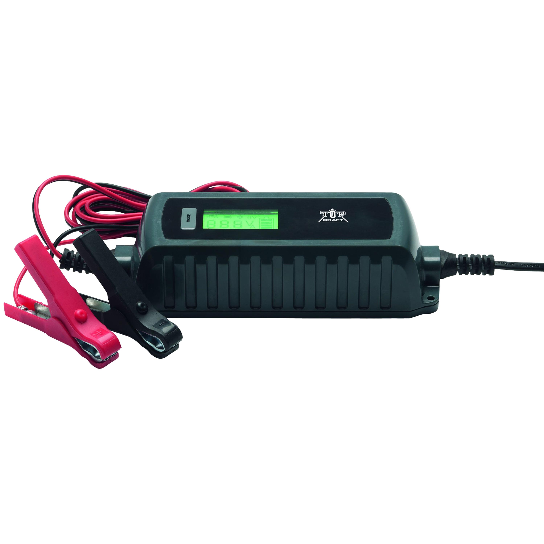 MEDION® KFZ-Ladegerät MD13323, LC-Display, Überhitzungs- und Verpolungsschutz, für alle 6 / 12 V KFZ-Batterien, auch für Motorräder geeignet