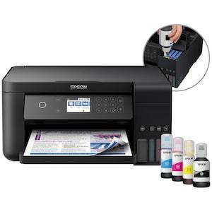 EPSON EcoTank ET-3700 3-in-1-Drucker - Drucken, Scannen, Kopieren, Wi-Fi, USB, Epson Connect