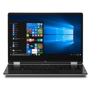 MEDION® AKOYA E3216 33,8 cm (13,3 Zoll Full HD Display) Convertible Touch-Notebook (Intel Pentium N4200, 4GB RAM, 64GB Flash, Win 10 Home) (B-Ware)