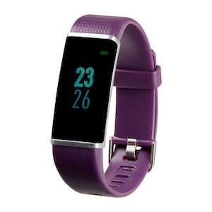 MEDION® LIFE® Fitnessarmband S3500 | 2,44 cm (0,96 ) display | flexibele armband | bluetooth | slaapbewaking | calorieverbruiksmeter | stappenteller | met verwisselbare armband  (Refurbished)