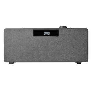 MEDION® LIFE® P64934 Vertikales Mikro-Audio-System, 2 x 15 W RMS, LC-Display mit Hintergrundbeleuchtung, DAB+, UKW, Slot-In CD-Player, Wiedergabe von Musikdateien vom USB Stick