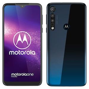 MOTOROLA One Macro Smartphone, 15,75 cm (6,2'') HD+ Display, Android™ 9, 64 GB Speicher, 4 GB RAM, Octa-Core-Prozessor, Dual-SIM, LTE