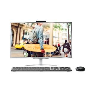 MEDION® AKOYA® E23401, Intel® Core™ i5-8250U, Windows10Home, 60,5 cm (23,8) FHD Display, 256 GB PCIe SSD, 1 TB HDD, 8 GB DDR4 RAM, USB-Webcam, Aluminium-Design, All-in-One