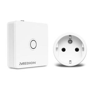 MEDION® Smart Home Einstieg inkl. Zentrale P85701 & Zwischenstecker P85702