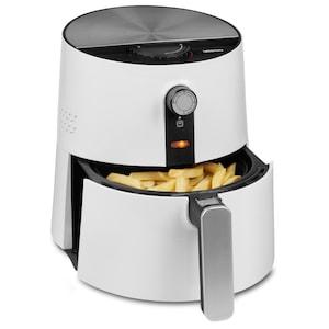 MEDION® Heißluftfritteuse MD 16997 , Ölfreies Frittieren, 1300 Watt, Temperaturkontrolle bis 190°C, Cool-Touch-Griff