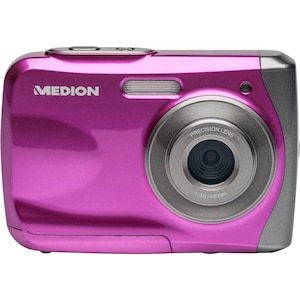 "MEDION® LIFE® S42017 Wasserdichte Digitalkamera, 8 MP, 6,1 cm (2,4"") LC-Display, 4-fach digitaler Zoom, Wasserdicht, Foto-Spezialeffekte"