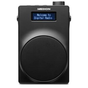 MEDION® LIFE® E66880 DAB+/UKW-Radio mit USB-Ladeanschluss, Kopfhöreranschluss, 30 Watt (3 Watt RMS)