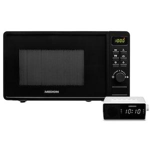 MEDION® Küchenbundle 1 - Mikrowelle MD 18688 & PLL-Uhrenradio MEDION® LIFE® E66407