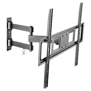 GOOBAY Basic FULLMOTION (L) | Muurbevestiging | Tot 70 inch | Volledig beweegbaar (draai- en kantelbaar)