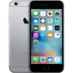 APPLE iPhone 6s Smartphone, 11,94 cm (4,7) Retina HD Display, 128 GB Speicher, A9 Chip, LTE, generalüberholt