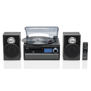 MEDION® LIFE® E69402 (MD 43001) Schallplatten- und Kassettendigitalisierer, direkte MP3 Umwandlung, UKW, ID3, X-Bass Funktion, 2 x 20 W (B-Ware)