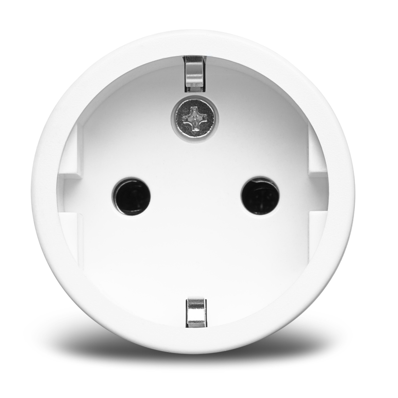 MEDION® Smart Home Zwischenstecker P85702, schaltet elektrische Geräte, misst Stromverbrauch, Zeitschaltung oder manuelle Schaltung