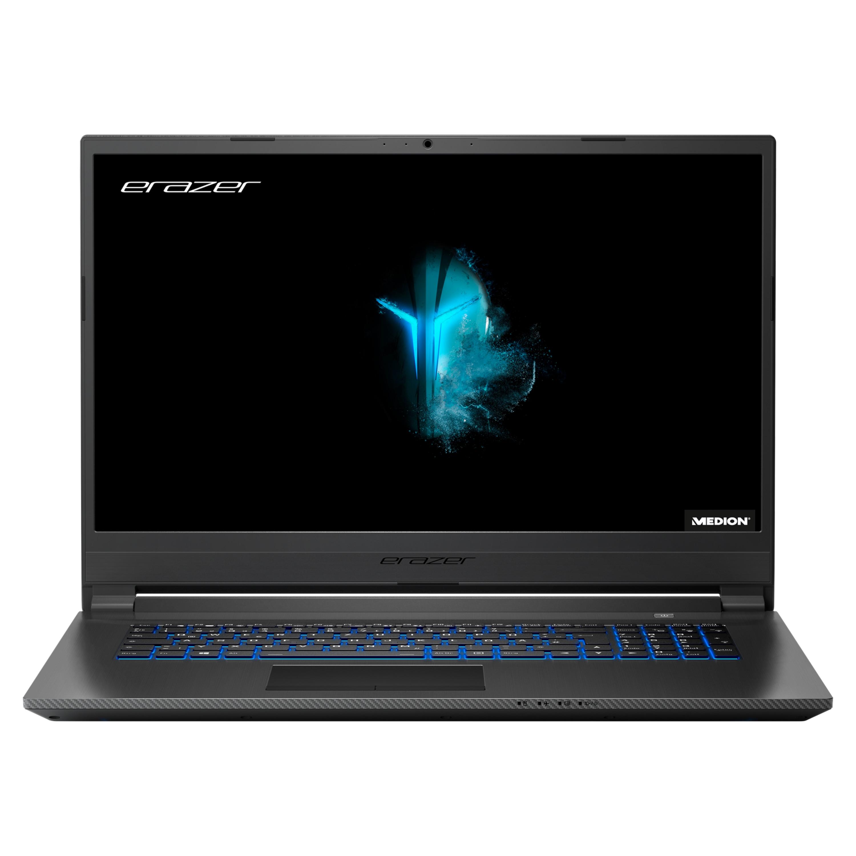 ERAZER® P17613, Intel® Core™ i7-9750H, Windows10Home, 43,9 (17,3) FHD Display, GTX 1650, 512 GB SSD, 1 TB HDD, 16 GB RAM, Core Gaming Notebook