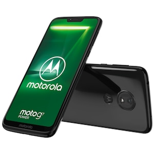 MOTOROLA moto g7 power Smartphone, 15,84 cm (6,2) HD+ Display, Android™ 9.0, 64 GB Speicher, Octa-Core-Prozessor, Dual-SIM, LTE