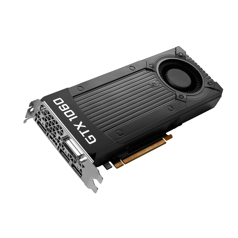 NVIDIA GeForce® GTX 1060, 6 GB GDDR5, 192 Bit, Nvidia G-Sync, VR Ready, DirectX 12, OpenGL 4.5, Grafikkarte
