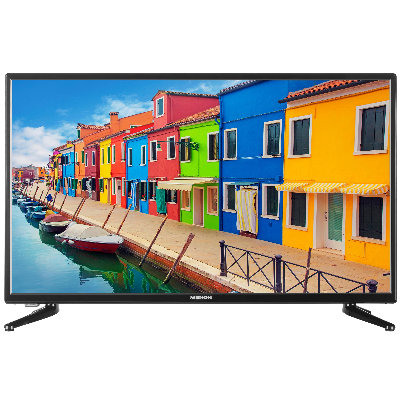 MEDION® LIFE® E13216, TV, 80 cm (31,5''), HD Triple Tuner, integrierter Mediaplayer, CI+
