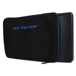 ERAZER® X89715 Notebook Sleeve, für alle NBs bis 15,6, weiche Innenpolsterung, perfekter Schutz für unterwegs, schwarz