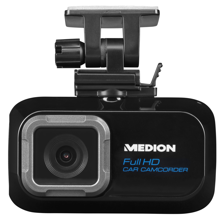 MEDION® LIFE® P86009 Dashcam Autokamera, 6,86 cm (2,7'') Farbdisplay, 3 MP CMOS Sensor, Full HD Videoauflösung, Super-Weitwinkel-Objektiv