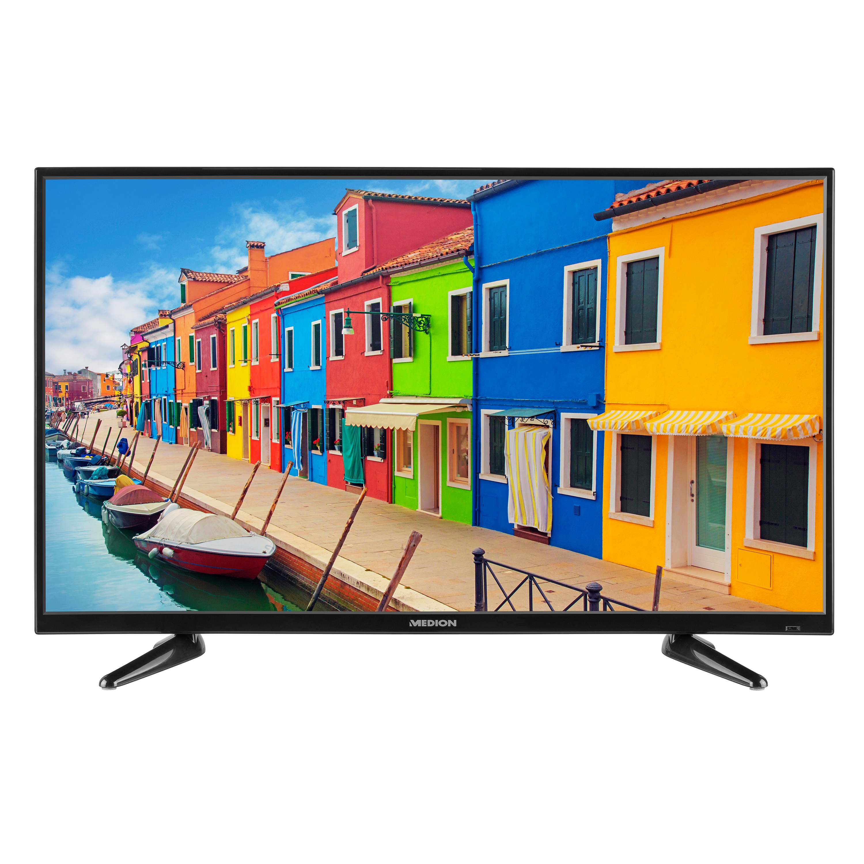 MEDION® LIFE® P14063 TV, 100,3 cm (40''), Full HD, HD Triple Tuner (DVB-S2, -C, -T2 HD), integrierter Mediaplayer, CI+