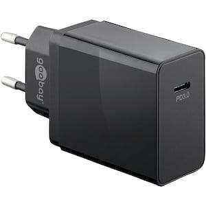 WENTRONIC Schnellladegerät, USB-C™ mit Power Delivery, lädt bis zu 4x schneller als Standardladegeräte