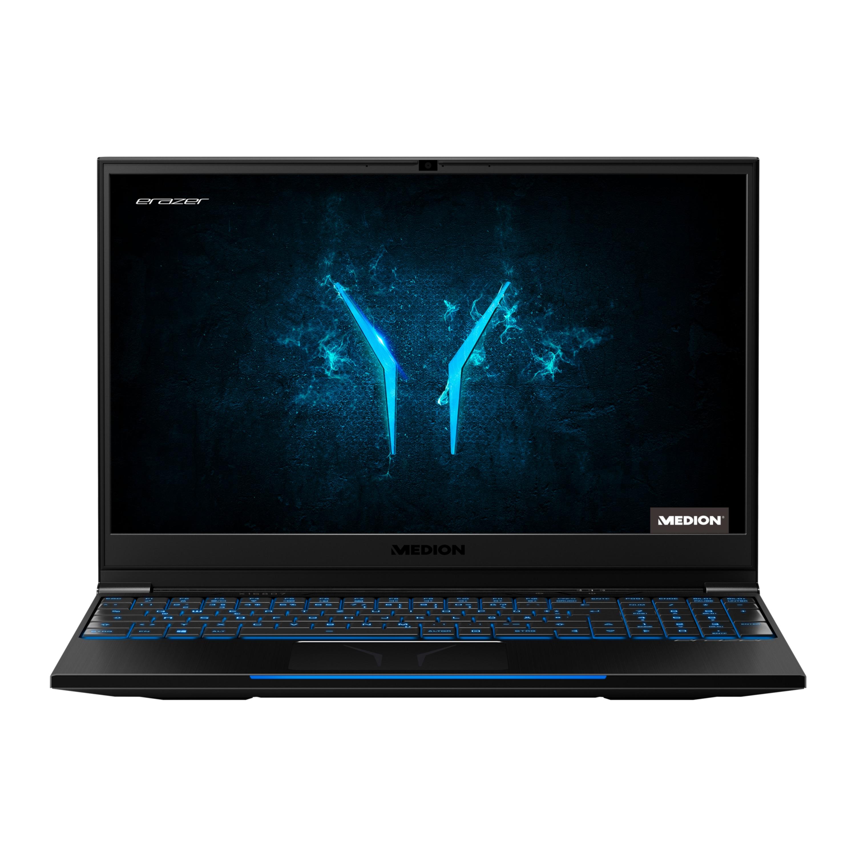 MEDION® ERAZER® X15807, Intel® Core™ i7-9750H, Windows10Home, RTX 2060, 39,6 cm (15,6'') FHD Display mit 144 Hz, 512 GB PCIe SSD, 1 TB HDD, 32 GB RAM, High-End Gaming Notebook