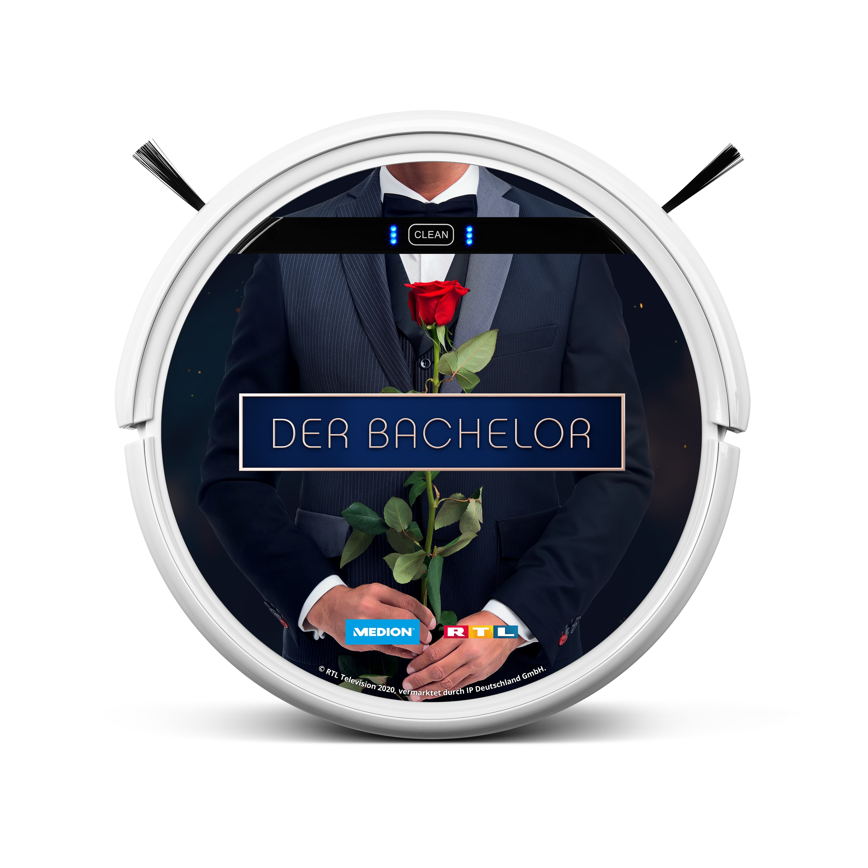 MEDION® Saugroboter MD 18500 EDITION DER BACHELOR, inkl. TVNOW PREMIUM