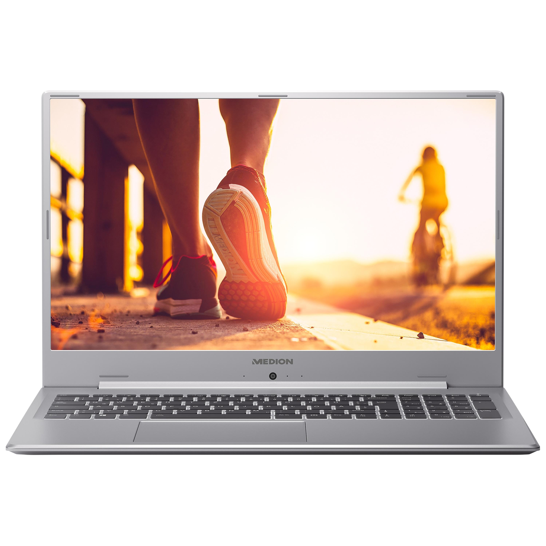 MEDION® AKOYA® P17605, Intel® Core™ i7-10510U, Windows10Home, 43,9 cm (17,3) FHD Display, MX250, 256 GB SSD, 1,5 TB HDD, 16 GB RAM, Schlankes Design, Schnellladefunktion, Notebook