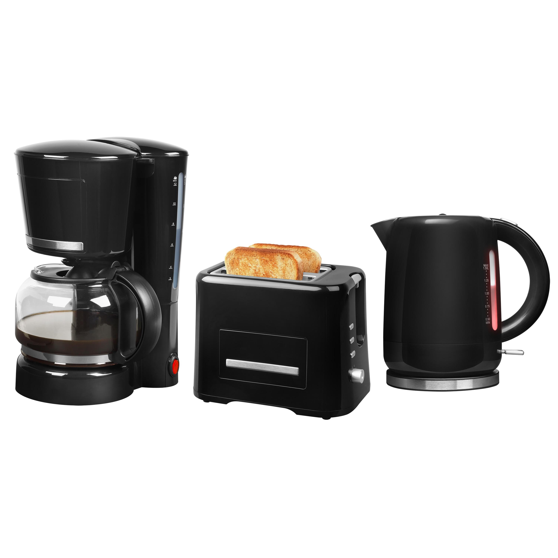 MEDION® Frühstücksset aus Kaffeemaschine MD 17229, Wasserkocher MD 18090 und Toaster MD 16734