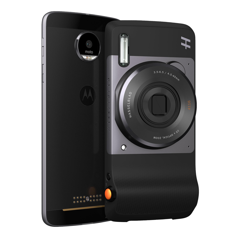 MOTOROLA moto Hasselblad True Zoom, 12 MP Kamera, Foto- und Video-Modus, Xenon-Blitz, 10 x optischer Zoom, 4 x digitaler Zoom, passend zu jedem moto z Smartphone