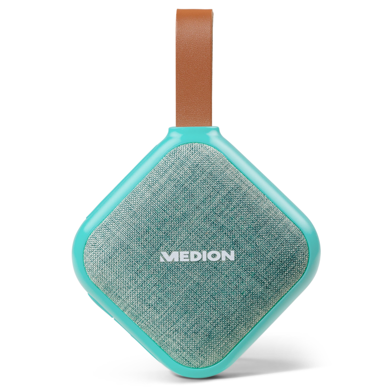 MEDION® LIFE E65242 Bluetooth Lautsprecher (Bluetooth 4.1, Freisprechfunktion, Strahlwasserschutz IPX5, 30 Watt, Akku)