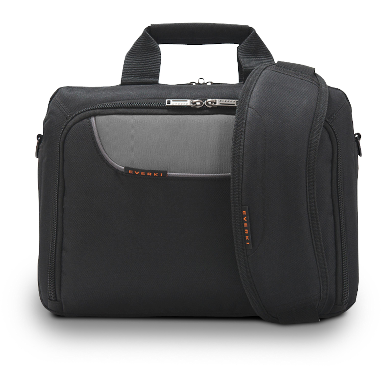 EVERKI Advance Laptoptasche, für Geräte bis 11,6, geräumig und besonders gepolstert, selbstheilende Reißverschlüsse