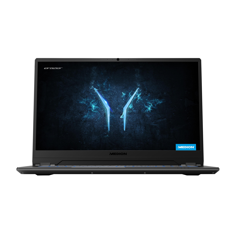 ERAZER® X17801, Intel® Core™ i7-9750H, Windows10Home, 43,9 cm (17,3) FHD Display, GTX 1660 Ti, 256 GB SSD, 1 TB HDD, 16 GB RAM, High-End Gaming Notebook