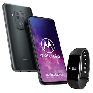 MOTOROLA  One Zoom Smartphone incl. Fitness Activity Tracker MEDION® LIFE® E1000 - SPAARBUNDEL