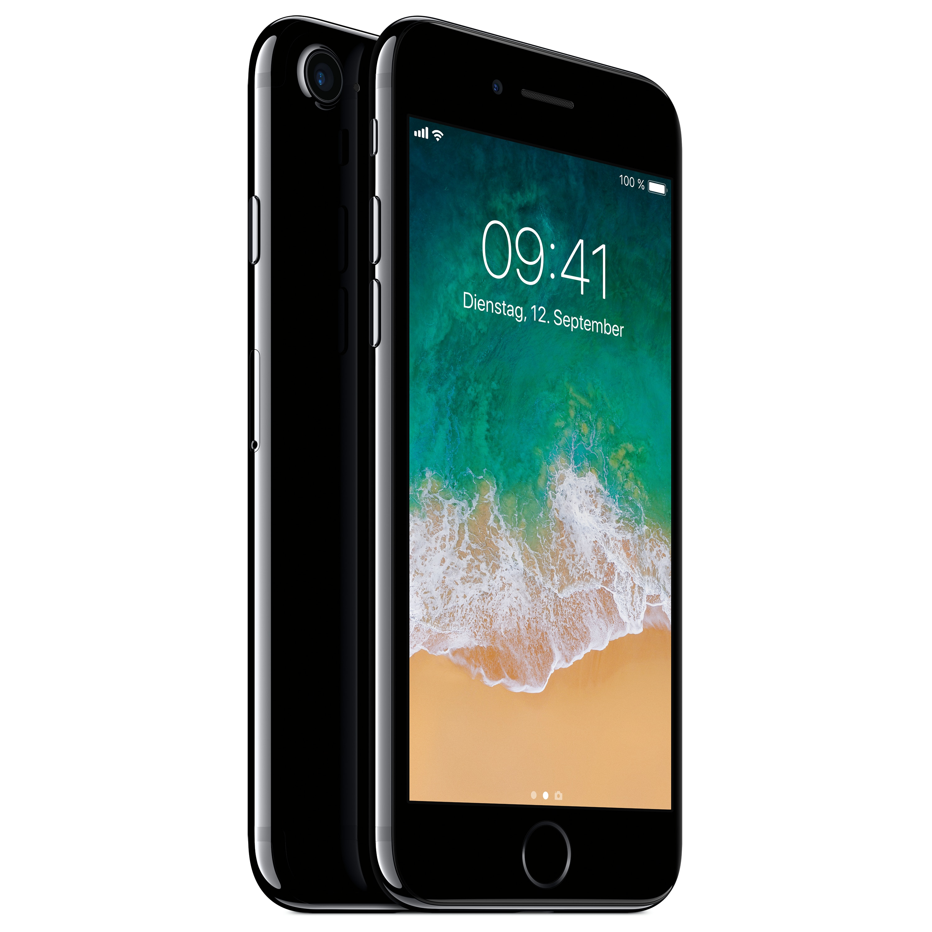 APPLE iPhone 7 Smartphone, 11,94 cm (4,7) Retina HD Display, 128 GB Speicher, A10 Fusion Chip, LTE, Touch ID, generalüberholt