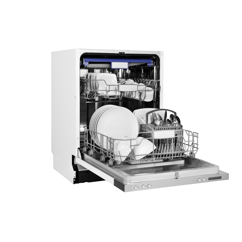 MEDION® Geschirrspüler MD 37128, vollintegriert, 8 Reinigungsprogramme, Fassungsvermögen: 14 Maßgedecke, Wasserverbrauch: 10 Liter