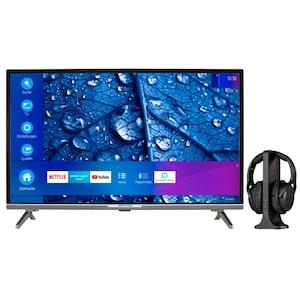 MEDION® BundelDEAL ! LIFE® P13225 31,5 inch Full HD Smart-TV & E62003 Koptelefoon