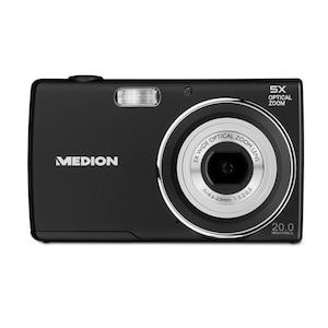 """MEDION® LIFE® E44047 Digitalkamera, 20 MP, 5x optischer Zoom, 5x digitaler Zoom, 6,86 cm (2,7"""") LC-Display, Makro-Funktion (B-Ware)"""