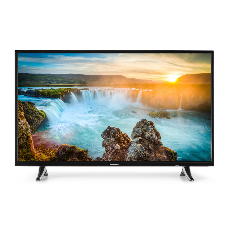 MEDION® LIFE® X17038 Smart TV, 108 cm (43) LED-Backlight, UHD-Display, HD Triple Tuner, integrierter Internetbrowser & Medienportal, DTS-Sound